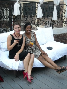 Center City Sips with my Wingwoman at the Vango Sky Bar