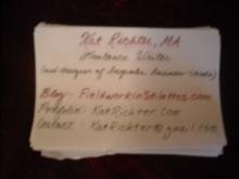 handmade business cards