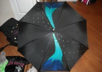 Bedazzled umbrella