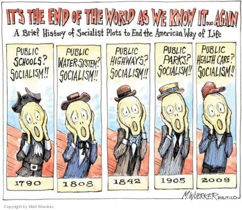 Socialism cartoon