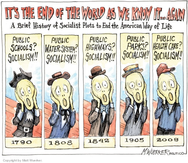 Socialism cartoon