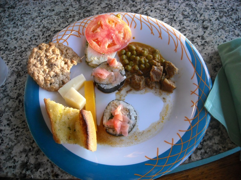 Royal Caribbean food