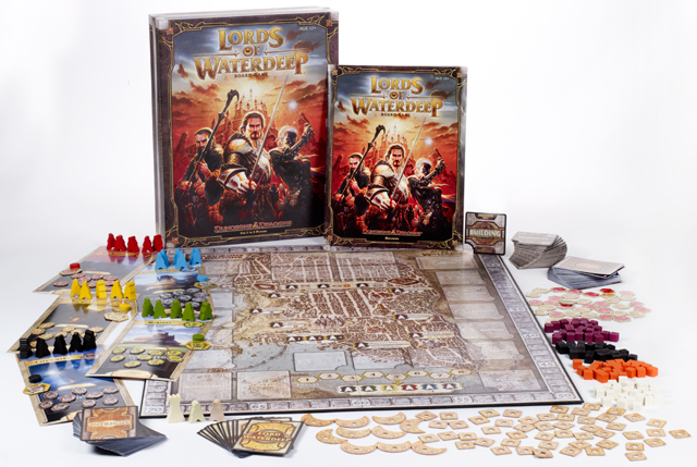 Dungeons and dragons board game