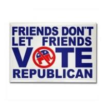Don't vote republican