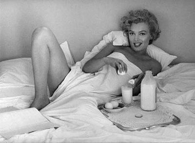 sexy breakfast in bed