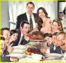 Thanksgiving Modern Family