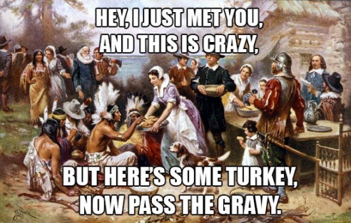 Thanksgiving meme