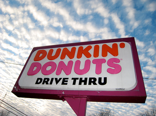 Dunkin Donuts drive through