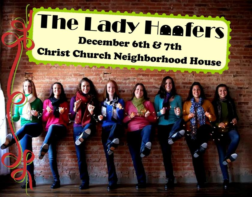 Lady Hoofers Holiday Postcard