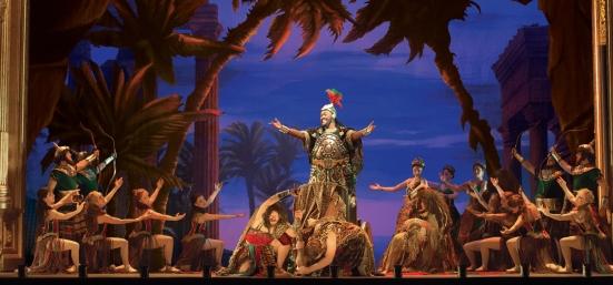 "The Company performs ""Hannibal"" featuring Frank Viveros as Ubaldo Piangi. Photo: Matthew Murphy"