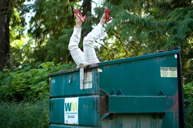 Image result for dumpster diving tallahassee