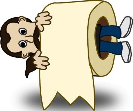man-toilet-paper-roll-clip-art