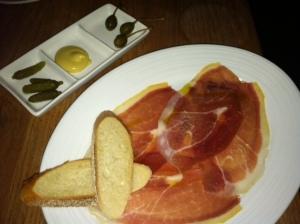 Round One: Serrano ham