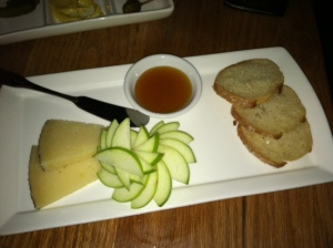 Cheese.  You can never had too much cheese.  Especially with a side of granny smith apples and lavender honey.