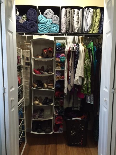 Kondo clean closet