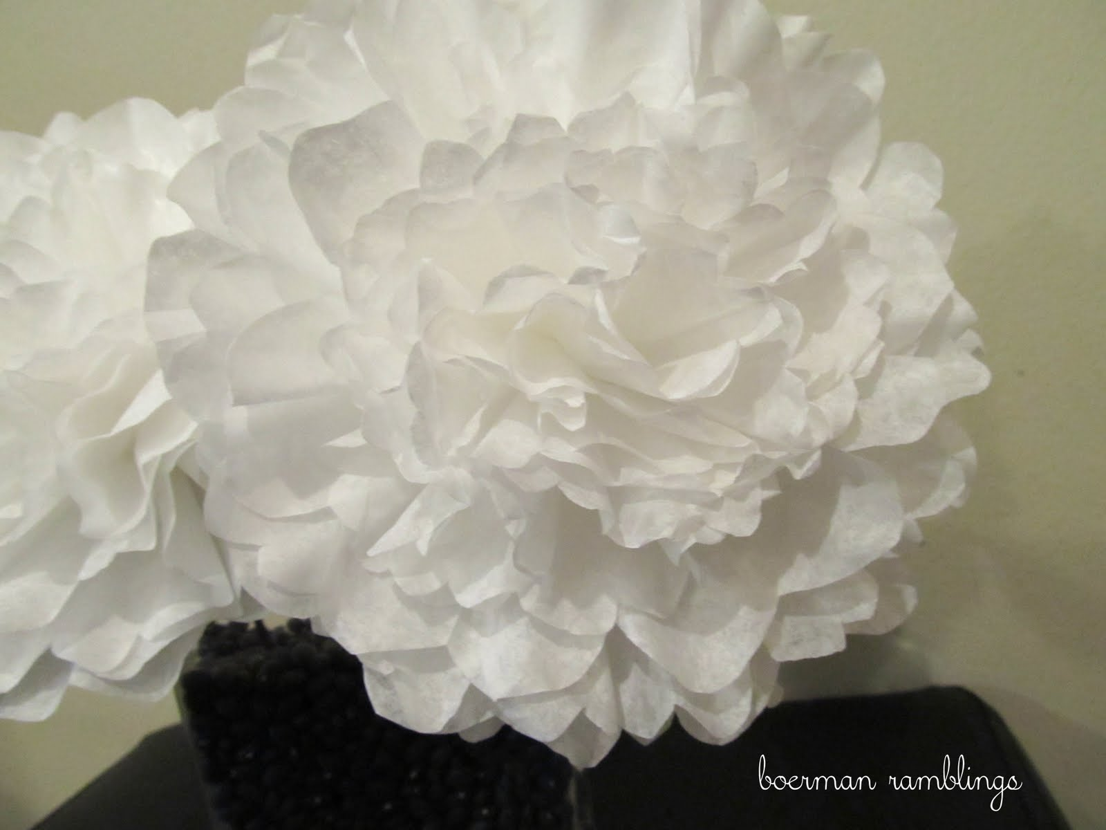Coffee filters vs tissue paper or weddings why all the fuss tissue paper flowers are so yesterday coffee filter flowers are where its at mightylinksfo Images