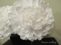 Tissue paper flowers are SO yesterday. Coffee filter flowers are where it's at.