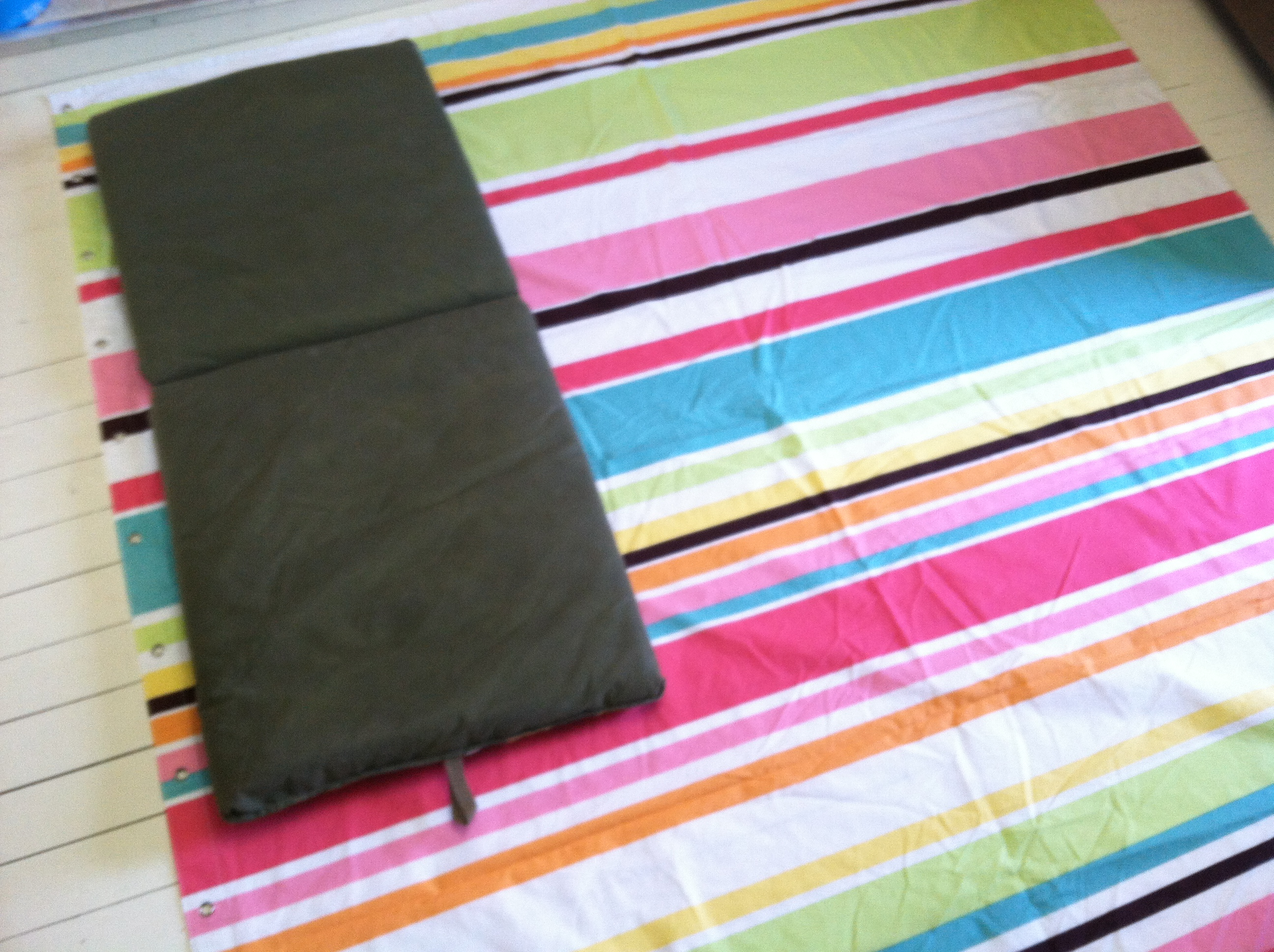 Use Your Cushion To Measure The Fabric For Your Cover Part 92
