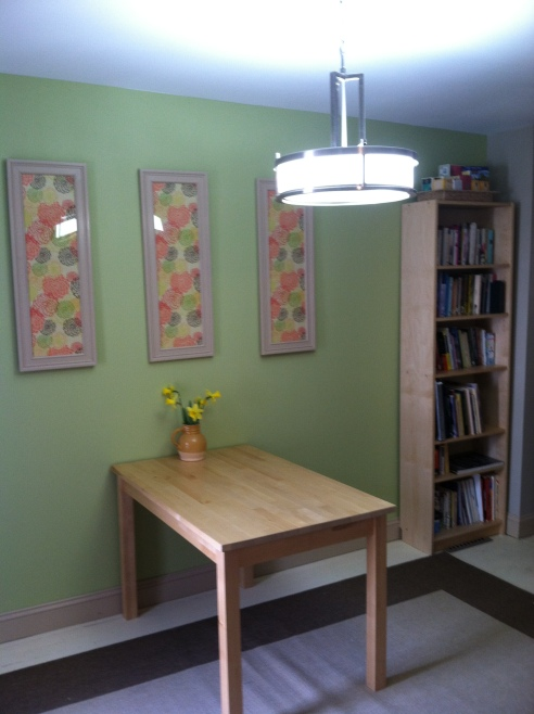 Our new dining room :)