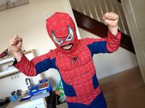 spiderman boy